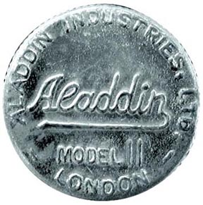 Aladdin model 11 London wick adjustor