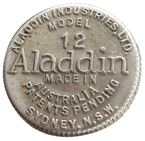 Aladdin model 12 Australia wich adjuster