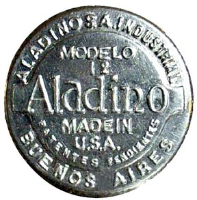 Aladdin model 12 adjustor