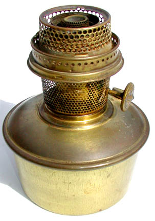 Aladdin model 12 oil pot