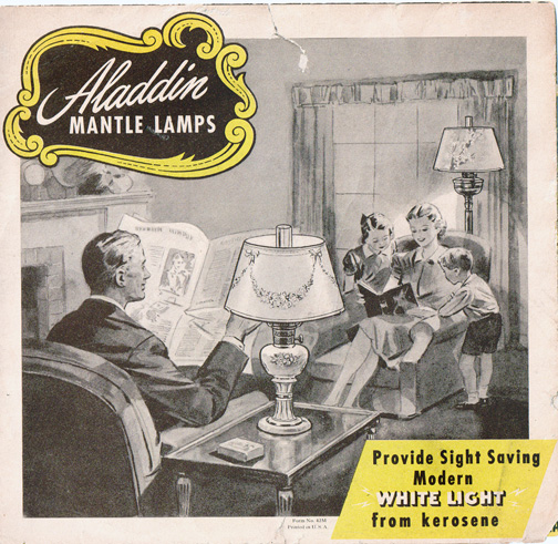 1947 Aladdin Lamp Catalog