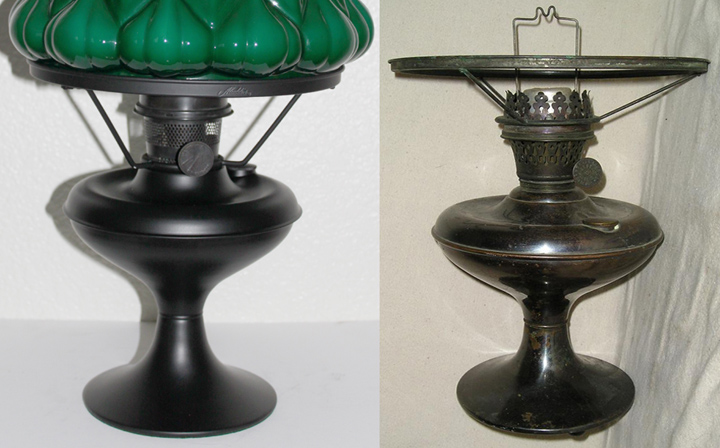 Aladdin parlor lamps
