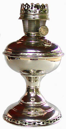 Aladdin lamp model 6 table
