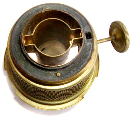Aladdin lamp burner bottom