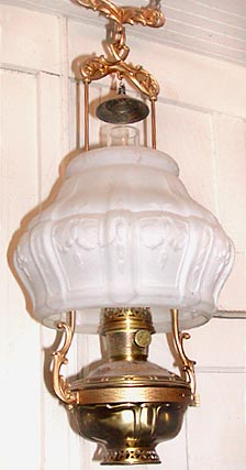 Aladdin model 7 hanging lamp