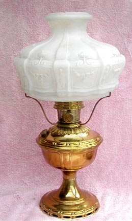 Aladdin model 7 table lamp