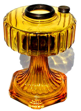 Aladdin glass lamp