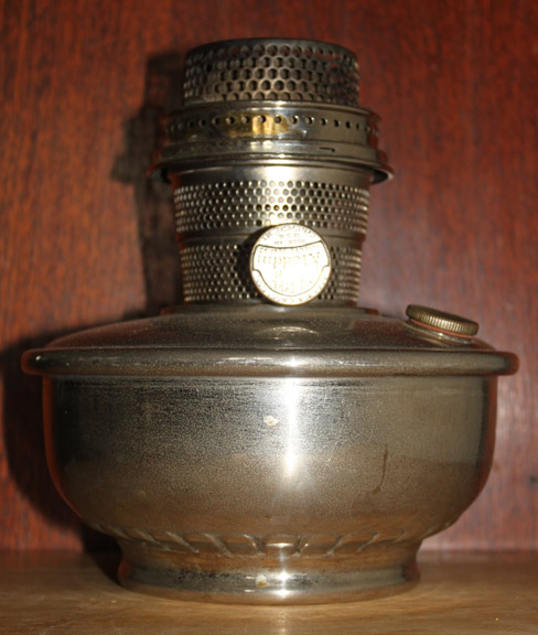 Early Aladdin model B metal lamp
