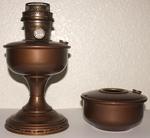 Aladdin 1949 Nashville Treasure lamp