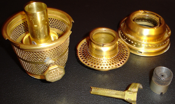 Aladdin model C Brazil brass burner