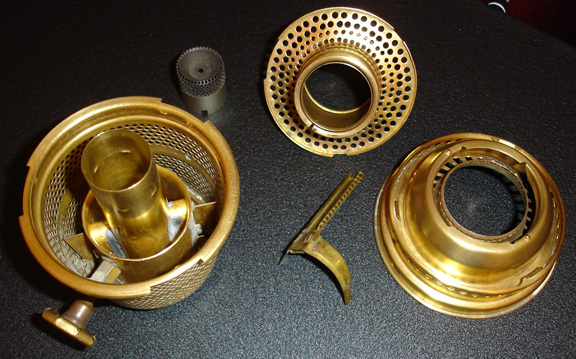 Brass Brazil model C burner