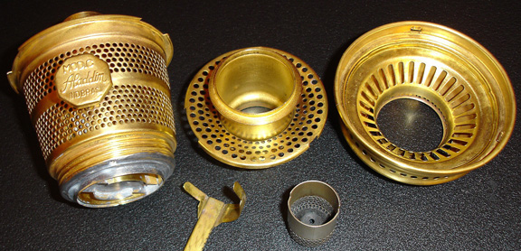 Brass Aladdin model C Brazil burner