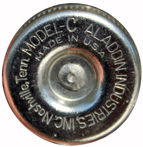Aladdin model C Nashville wick adjuster knob