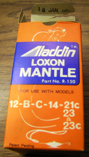 Aladdin Lox-On mantle box
