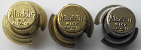 Aladdin brass wick cleaners