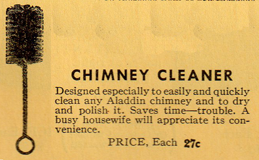 Chimney cleaner ad