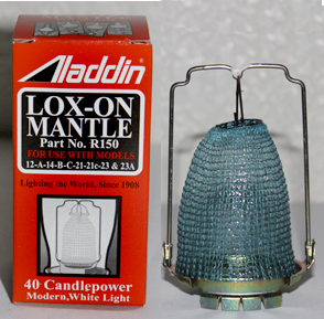 Aladdin model 32A lox-on mantle